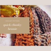 Quick Chunky Beanie - Free Crochet Pattern