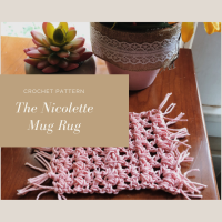 The Nicolette Mug Rug - Free Crochet Pattern