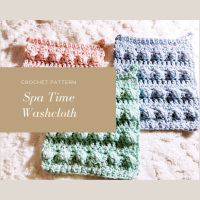 Spa Time Washcloth - Crochet Pattern