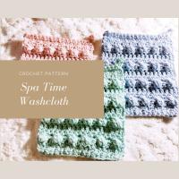 Spa Time Washcloth - Crochet Pattern