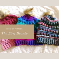 The Eira Beanie - Crochet Pattern