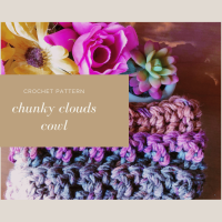 Chunky Clouds Cowl - Free Crochet Pattern